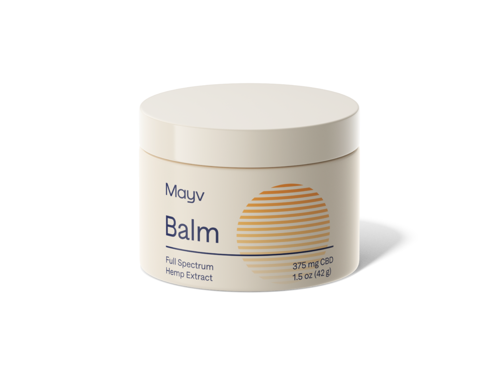 Mayv balm for targeted pain relief